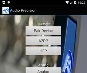 Android™ Smartphone Audio Test App uudistui